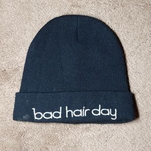 Bad Hair Day Beanie | Black